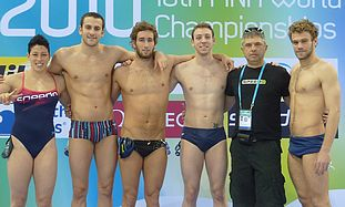 israel swimming team