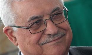 PA President Mahmoud Abbas smiling