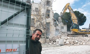 Demolition underway at e. J'lem Shepherd Hotel