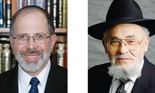 Rabbi Shmuel Goldin & Rabbi Dr. Moshe D. Tendler