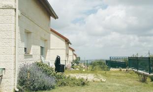 THE HOME of Maj. Eliraz Peretz.