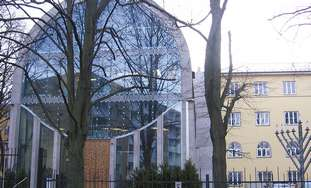 Synagogue in central Tallinn