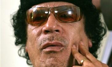 Moamar Gadhafi
