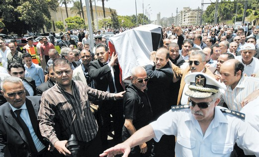 Marwan was buried in Cairo