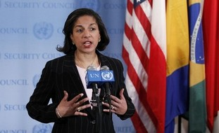 US Ambassador to the United Nations Susan Rice