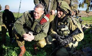 IDF Chief of General Staff Benny Gantz