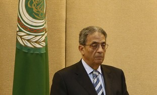 Arab League Secretary-General Amir Moussa.