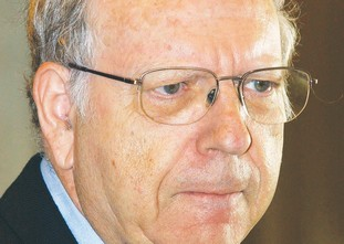 Former Mossad head Efraim Halevy.