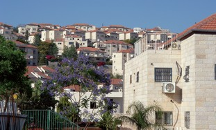 A VIEW of Betar Illit in Gush Etzion.