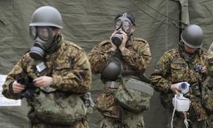 Japan Self-Defense Force officers