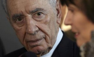President Shimon Peres in Switzerland