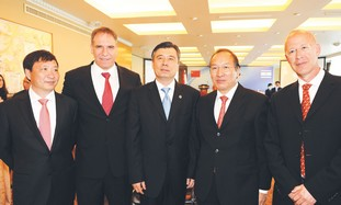 INFINITY GROUP managing partners, Chinese envoys