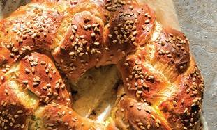 Stuffed Challah bread