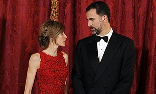 Crown Prince Felipe and Princess Letizia of Spain