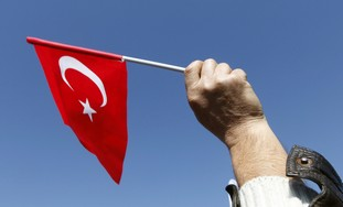 Turkish flag [illustrative]