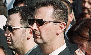 Maher and Bashar Assad