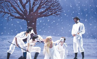 Israel Opera's production 'The Magic Flute'