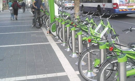 Tel Aviv bicycles