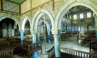 The El Ghriba synagogue in Tunisia