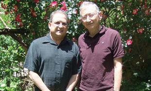 PROF. FRANK ANDRASIK (left) and Dr. David Wilensky