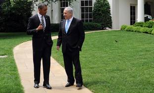 Netanyahu meets with Obama at White House