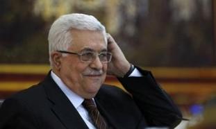 PA President Mahmoud Abbas in Ramallah