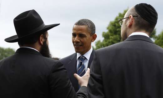 US President meets with Polish Jewish community
