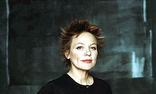 Laurie Anderson has a ...