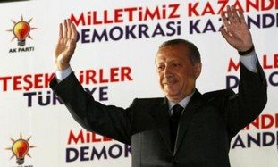 Erdogan celebrates win in Turkish election