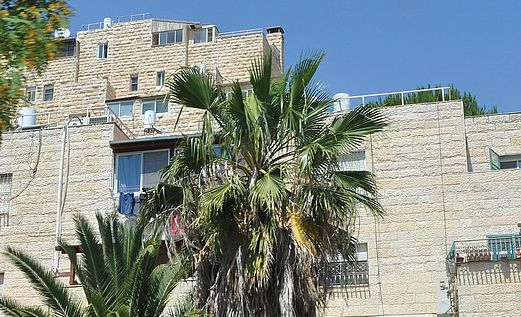 A building in Armon HaNatziv.
