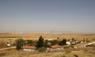 A settlement in the Jordan Valley [illustrative]