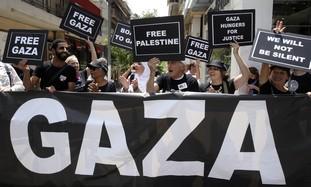 Pro-Palestinian flotilla activists