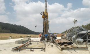 THE ZOHARIM drilling site near Beit Shemesh