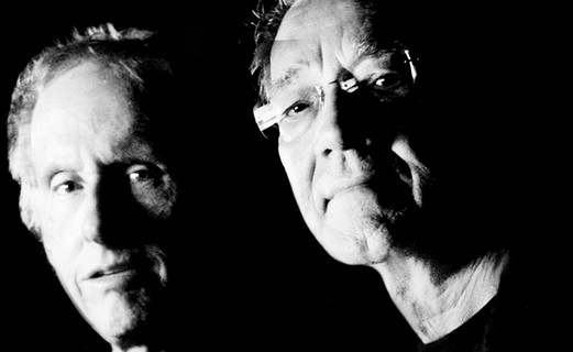 Ray Manzarek and Robby Krieger of The Doors.