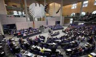 The German Bundestag in Berlin