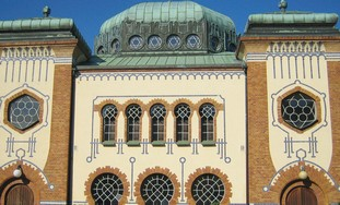 THE MAIN synagogue in Malmö, Sweden.