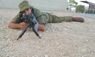 American IDF soldier Becor Dabush