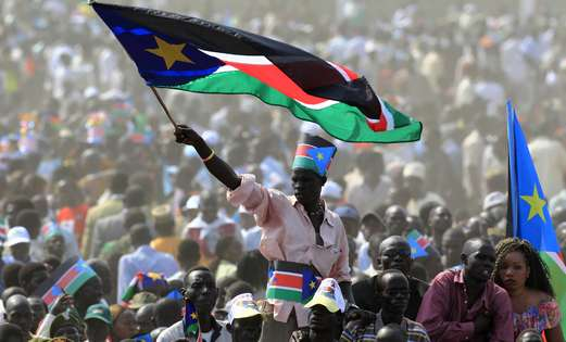 South Sudan independence celebrations