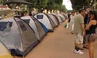 Tel Aviv housing prices tent protest