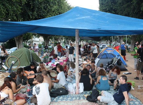 Tel Aviv residents protest high housing costs