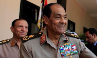 Egypt's Field Marshal Hussein Tantawi
