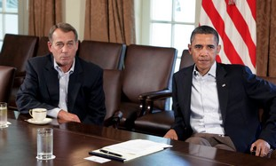 Obama and Boehner meet to discuss US debt crisis