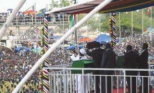 MASS CELEBRATIONS in Juba