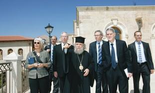 Members of AJC's Christian Leadership Initiative.