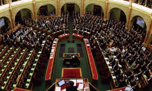 Hungarian parliament votes April 18.
