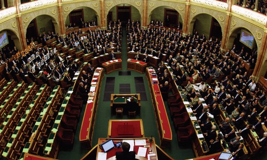 Hungarian parliament votes April 18.