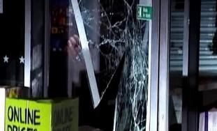 Rioting in northern London
