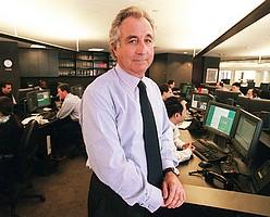 Disgraced financier Bernard Madoff.