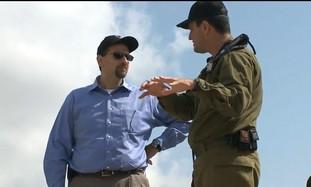 "US envoy Shapiro visits ""Iron Dome"" Battery"