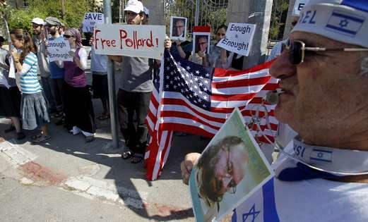 Free Jonathan Pollard demonstration in Jerusalem